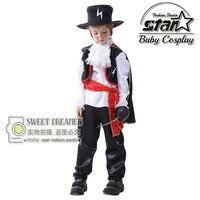 Meninos O Flash Superhero Comics Filme Festa de Carnaval Fantasia Trajes de Halloween Crianças Fantasia Zorro Cosplay Roupas Cavalheiro