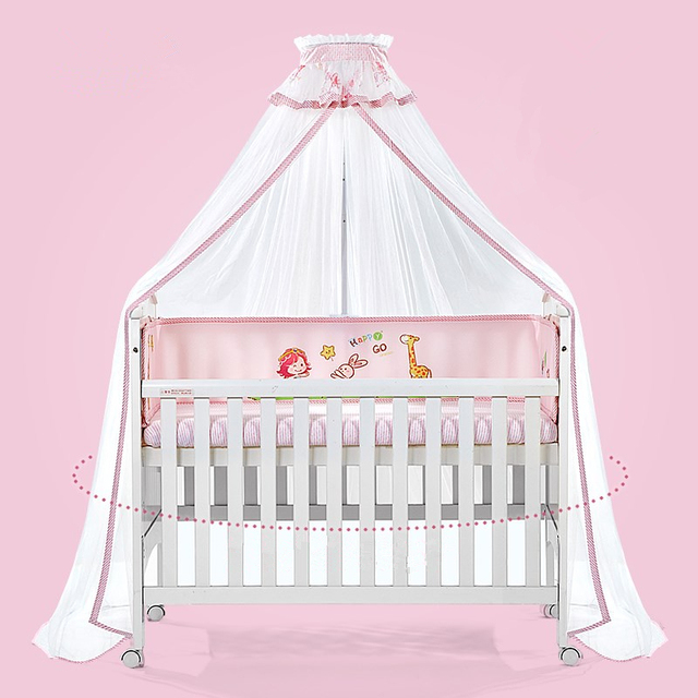 Kids Bedroom Round Baby Crib Bed Mosquito Net Dome Hanging Bed Canopy Mosquito Net Curtain For Baby Baby Cot Mosquito Mesh  sc 1 st  Aliexpress & Kids Bedroom Round Baby Crib Bed Mosquito Net Dome Hanging Bed ...