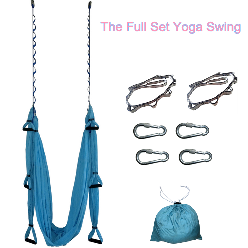 aerial yoga swing ultra strong antigravity yoga hammock trapeze sling for air yoga inversion exercises 2 extensions straps in resistance bands from sports     aerial yoga swing ultra strong antigravity yoga hammock trapeze      rh   aliexpress