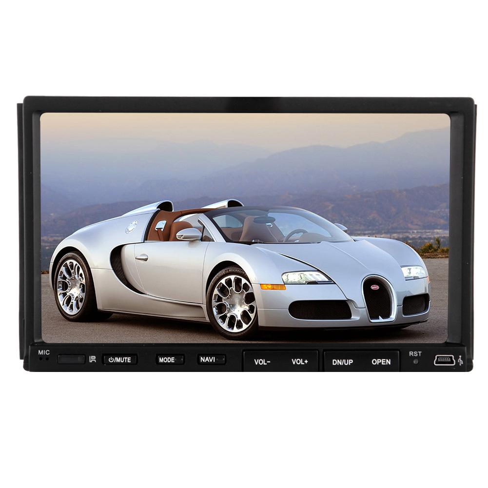 Video Player Double Din Auto Radio Car Stereo Headunit Pc Mp3 Mp4