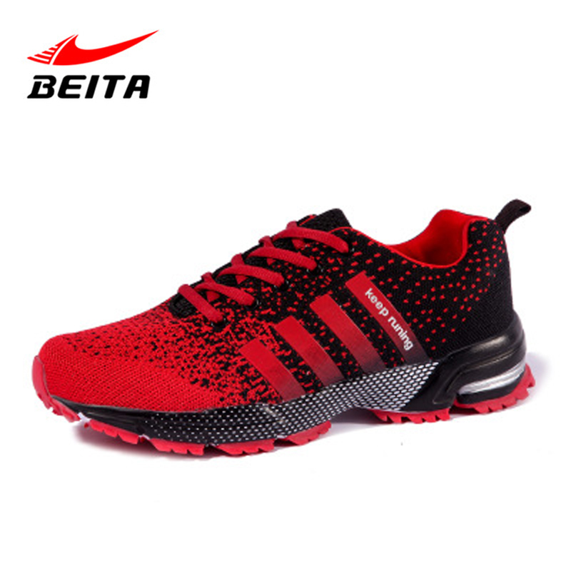 Beita Outdoors Summer Running shoes Men Women Breathable Comfortable Sports Athletic Jogging Walking Lightweight Unisex Snears