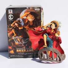 Free Shipping Anime One Piece Luffy Decisive Battle PVC Action Figure Collection Toy 6″15CM