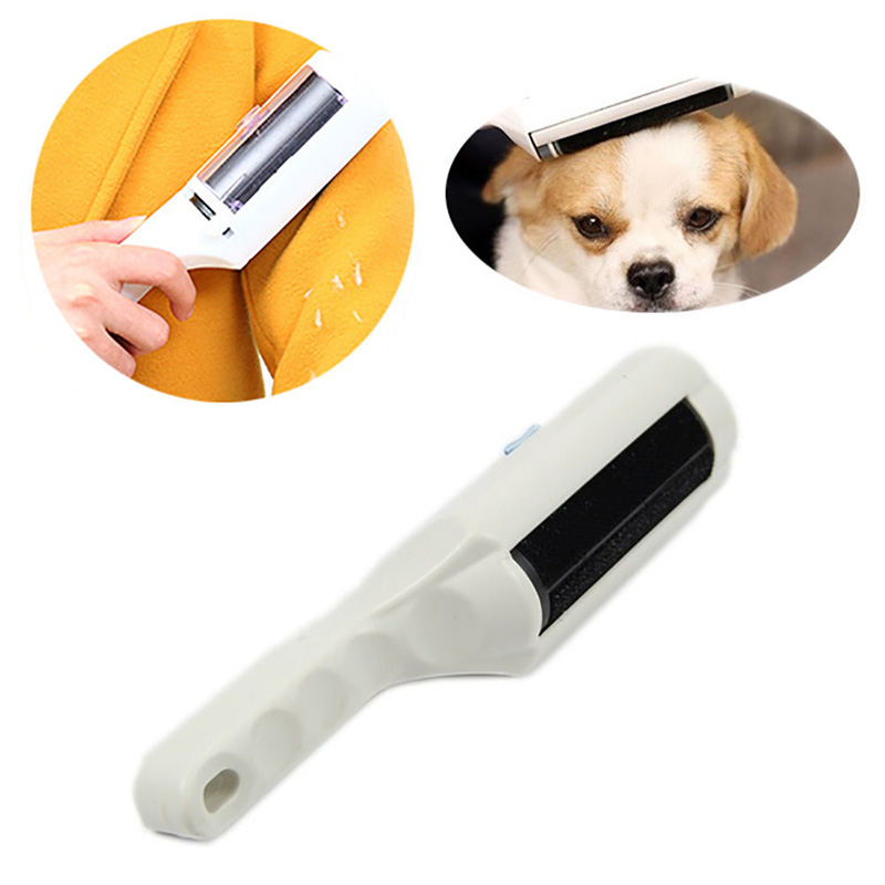 Fur Cleaning Brushes Pet Fur Remove Lint Remover Fur Magic Cloth Fabric Brush Reusable Device Dust Brusher Static Electrostatic