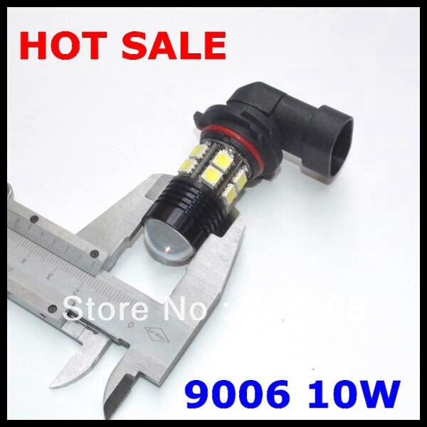 NEW 9006 led lamp hb4 led smd Q5+ 12 SMD=10W Fog Light Car Led Bulb H4/H7/H8/H11/9005/9006/H16 Super White Fog Lamp