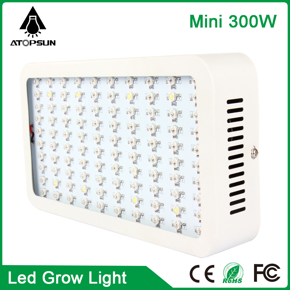 2PCS Full Spectrum Led Grow Light Mini 300W Growth Panel Led Plants Lamp for Flower Veg Hydroponic Systems Greenhouse Real Power стоимость