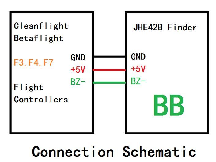 ViFly Finder JHE42B 5V Super Loud Buzzer Tracker 110dB with LED Buzzer Alarm For Multirotor FPV Racing Drone Flight Controller (8)