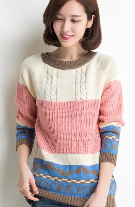 Nueva Llegada Camisa Para Señoras de La Manera Capa Del Suéter Del Suéter Flojo