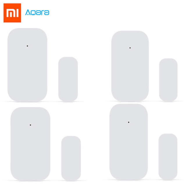 Bulk Xiaomi Aqara Door Window Sensor Zigbee Wireless Connection Smart Mini door sensor Work With Mi App For Android IOS Phone