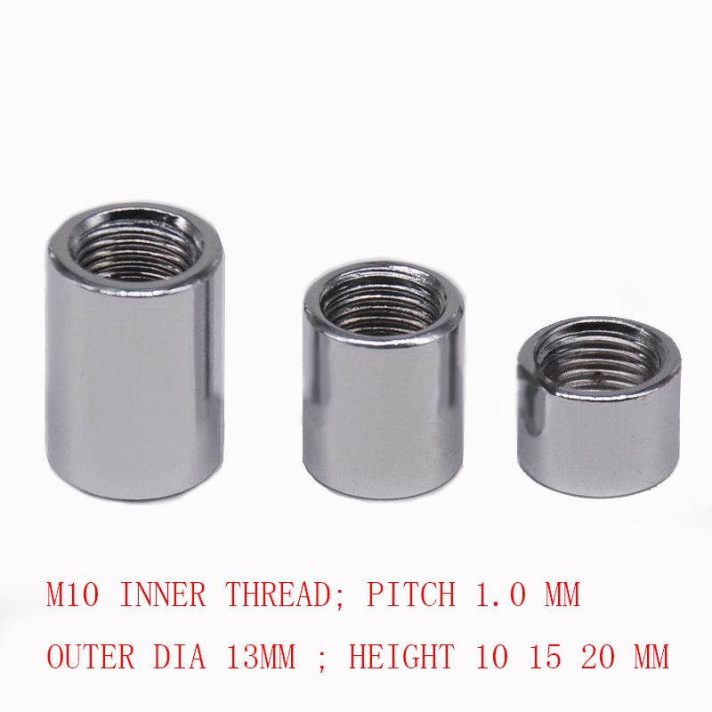 Aliexpress Com Buy M10 Steel Hollow Nut Female Thread