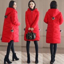 Brieuces 2019 Winter Jacket New Fashion Women Down jacket Slim Large size Hooded Students Thick Warm Cotton Outwear