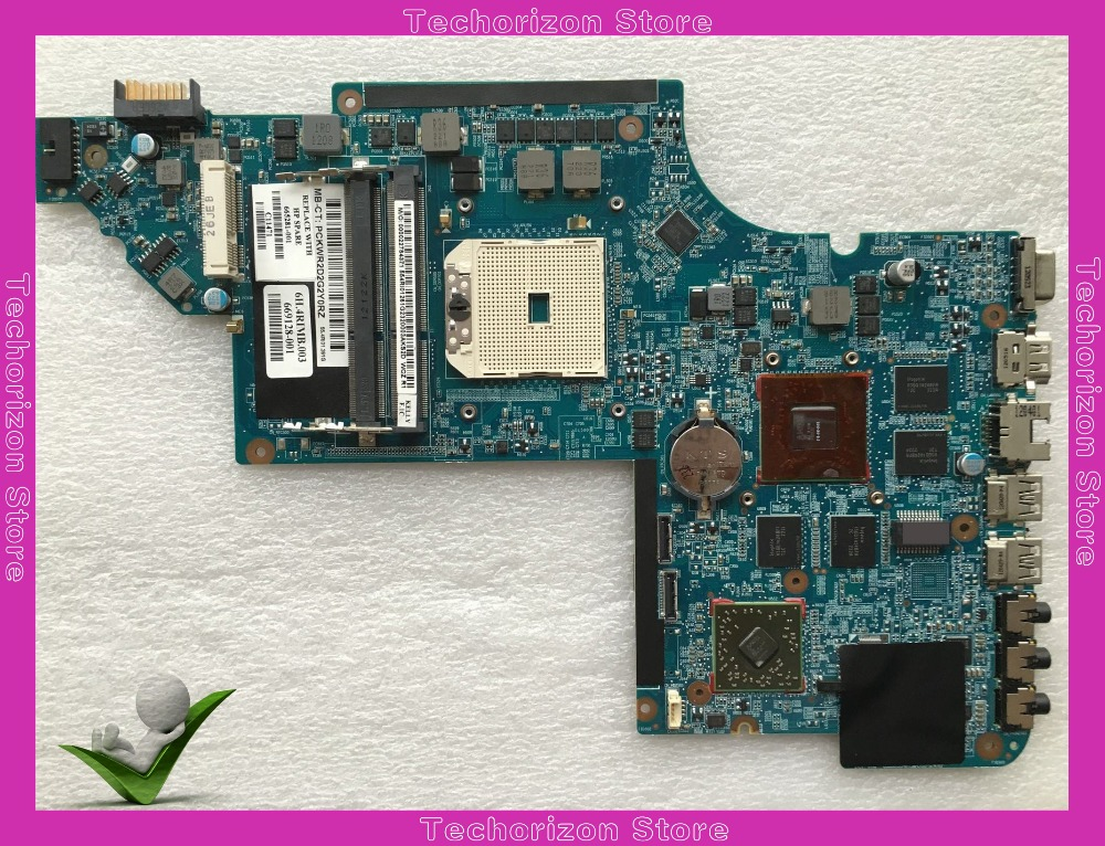 Fit For Hp Pavilion DV6 DV6-6000  Laptop Motherboard  665281-001 DDR3 Tested Working