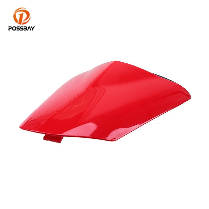 POSSBAY Red for Kawasaki Ninja ZX6R 2009 2010 2011 2012 2013 2014 2015 2016 Motorcycle Rear Pillion Seat Cowl Fairing Cover