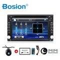 2din car dvd player GPS Навигации универсальный автомобильный радио аудио стерео в тире Bluetooth Бесплатная карта + Камера