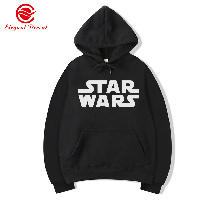 Movie STAR WARS Hoodies Men's Casual Hoodie Male Spring Autumn Sweatshirts Men Pullover Unisex Streetwear Clothing Y30
