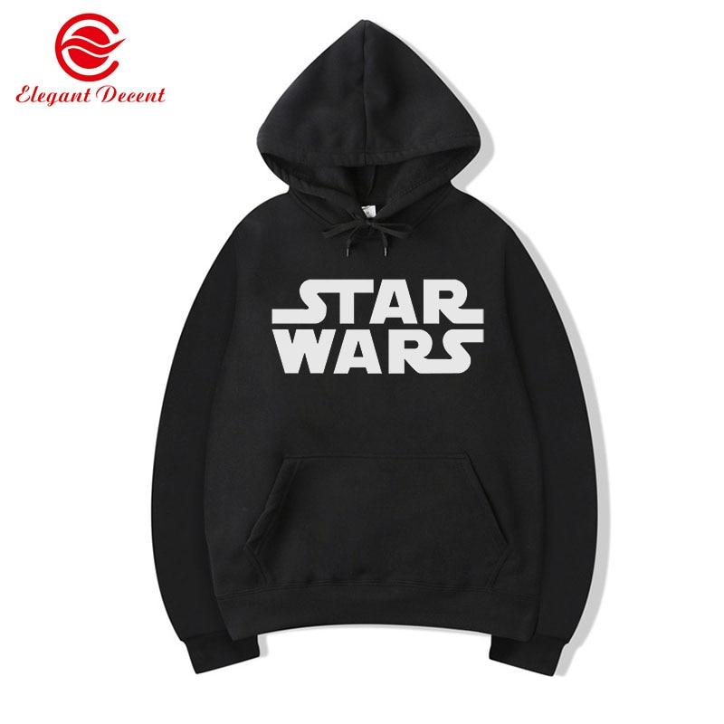 Movie STAR WARS Hoodies Men's Casual Hoodie Male Spring Autumn Sweatshirts Men Pullover Unisex Streetwear Clothing Y30