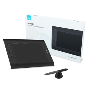 Image 5 - Huion H610 פרו V2 דיגיטלי גרפי טבליות אמן עיצוב ציור Tablet הטיה פונקציה סוללה משלוח עט טבליות עבור Win ו mac