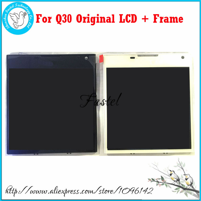 ФОТО For Blackberry Passport Q30 Original LCD Display+Touch Screen Digitizer Assembly with frame + Tools + free shipping