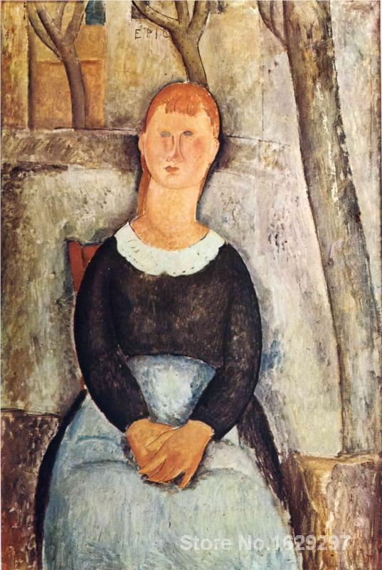 The Pretty Vegetable Vendor By Amedeo Modigliani Paintings For Sale Home Decor Hand Painted High Quality