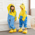 Kigurumi Minion Pajamas Anime Onesize Kids Minions Cosplay Costumes Yellow Minions Winter Party Boys Girls Pajamas Despicable Me