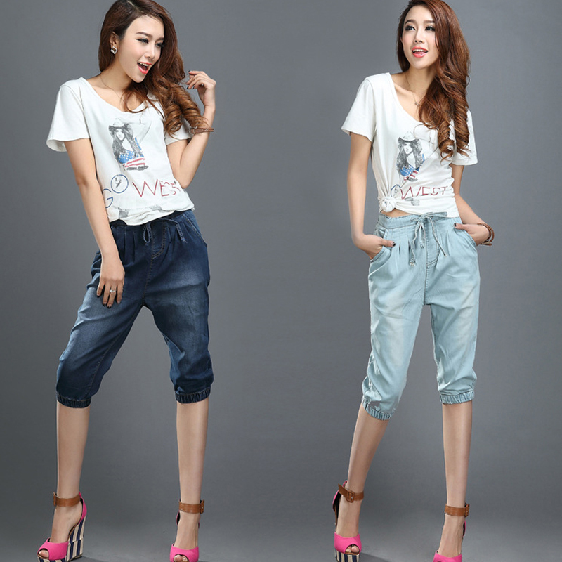 Popular Denim Capri-Buy Cheap Denim Capri lots from China Denim ...