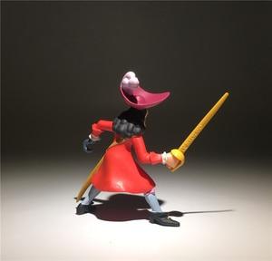 Image 5 - 2 peças/lote 9cm jack e o pirata neverland peter pan ação figura brinquedos coleção brinquedo