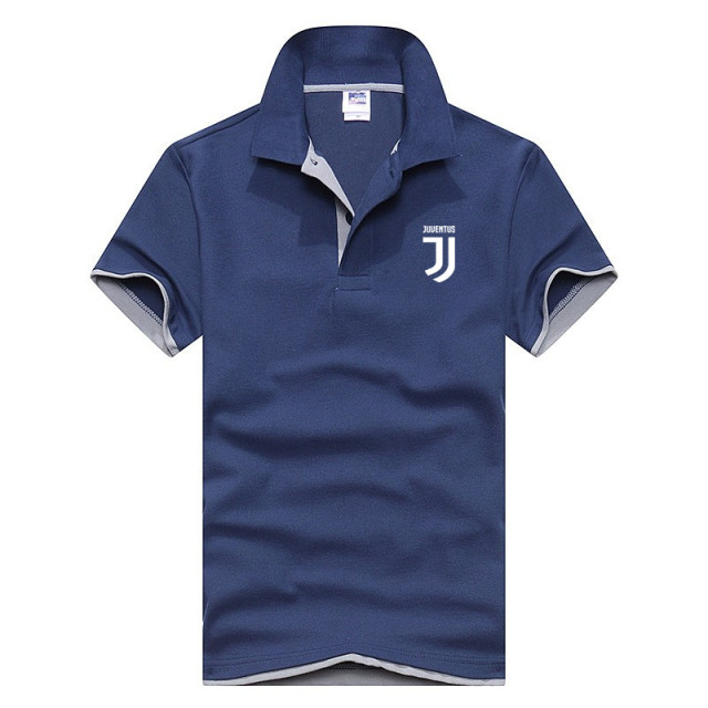 Polo Shirt Men Juventus Brand Clothing Male Fashion Casual men Polo Shirt Solid Casual Polo Tee Shirt Tops High Quality Slim Fit