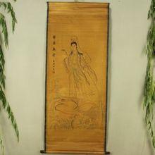 Antique collection Imitation ancient Cheung fish a Buddism godness diagram все цены