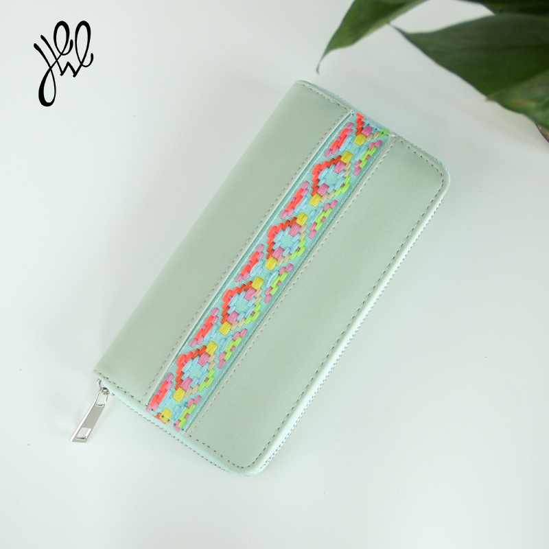 Fashion Women Wallets  Large Capacity Brand Designer Cell Phone Card Holder Women Hand Bags High Quality Long Lady Purses 500666