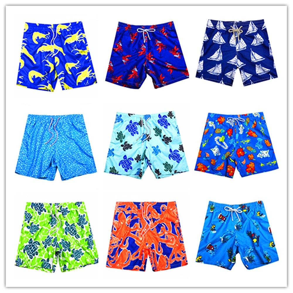 Brand BREVILE PULLQUIN   Board     Shorts   Turtle Swimwear Bermuda Quick Dry Beach Men Boardshorts Pantalones Hombre More 100 Colors