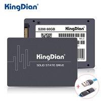 KingDian SSD 60GB S200 3 Years Warranty SATA3 2 5 Inch Hard Drive Disk 60GB HD
