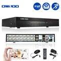 Owsoo 16 canales cctv dvr h.264 red d1 motion detección dvr 16ch cctv sistema de vigilancia de seguridad grabadora de vídeo digital