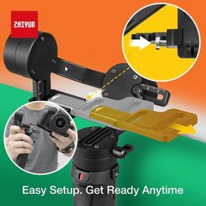 Image 5 - Zhiyun Crane M2 3 Axis Handheld Gimbal Stabilizer for Mirrorless Cameras Smartphones Gopro Stabilizer vs G6 Plus DJI Ronin S Max