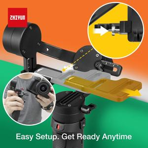 Image 4 - Zhiyun Crane M2 3 Axis Handheld Gimbal Stabilizzatore, per Mirrorless Camera Smart Phone, Action Cam, rapido On/Off, 360 ° di Rotazione