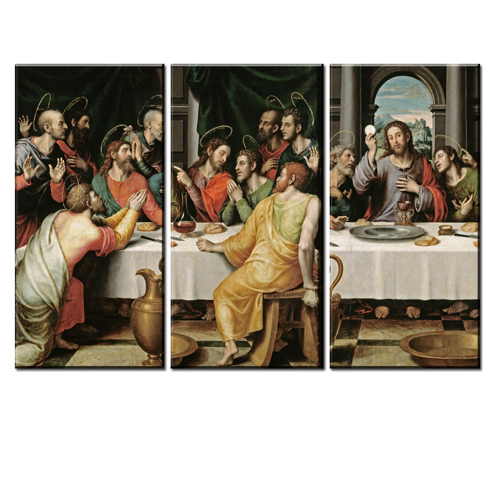 xdr145 Famous Jesus Christ Oil Painting on Canvas The Last Supper