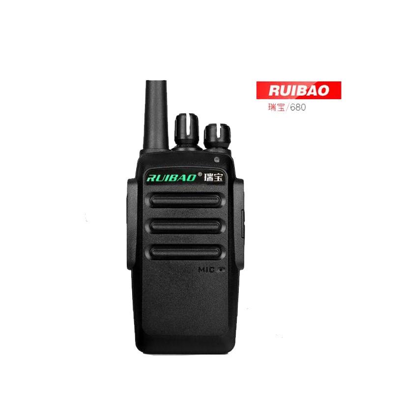 5W 16 Channels Ham Two Way Radio Ruibao 680 Walkie Talkie On Sale