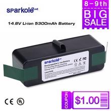 Sparkole 5300 мАч 14,8 В литий-ионный Батарея для IROBOT Roomba 500 600 700 800 Series 531 560 620 631 650 760 770 775 780 870 880