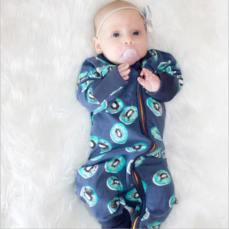 2018 Spring Baby Boy Clothes Newborn Romper Infant Girls Jumpsuit Toddler Kids Long Sleeve Romper Baby Pajamas Cotton Rompers
