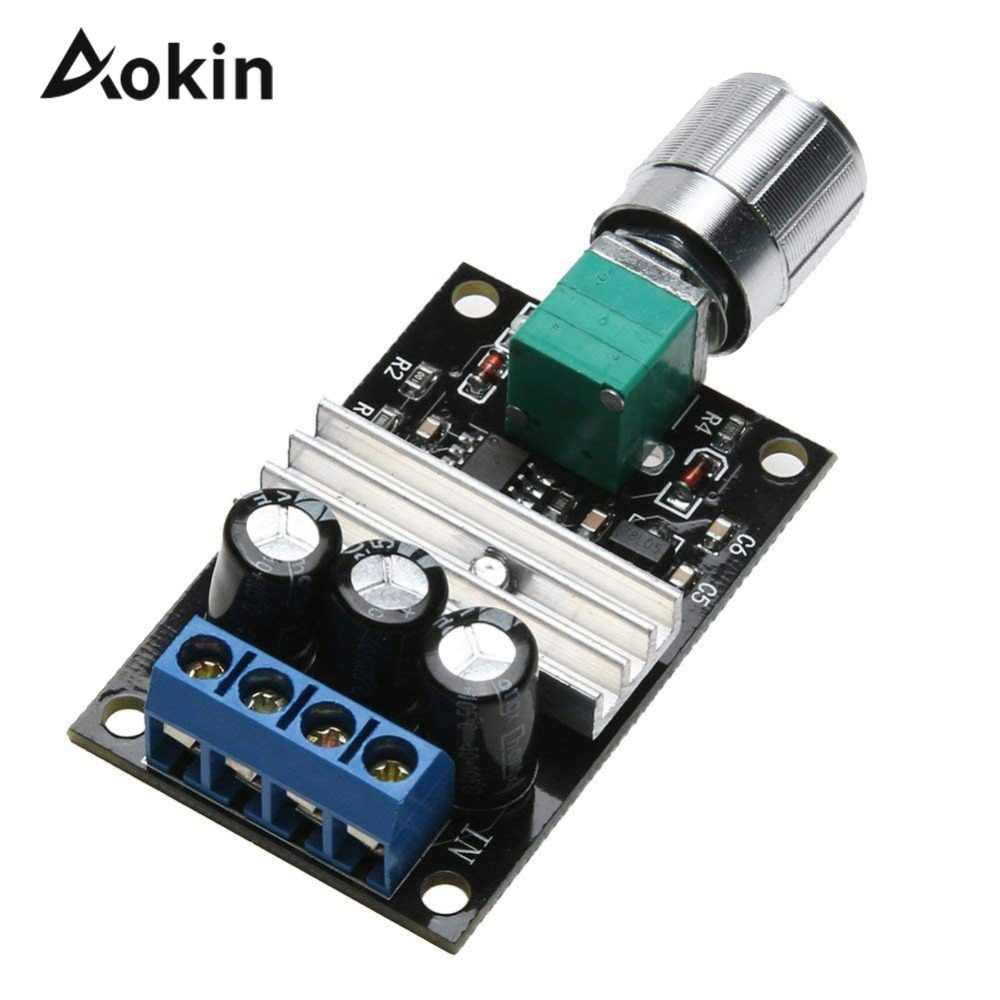 DC 6-28V 3A PWM Motor Speed Controller Regulator Speed Control Switch/& Jh
