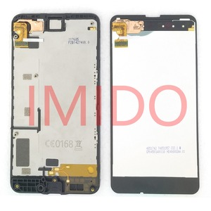 Image 2 - Nokia lumia 630 RM 977 RM 978 lcd 디스플레이 + 터치 스크린 디지타이저 어셈블리 + 프레임 교체 부품