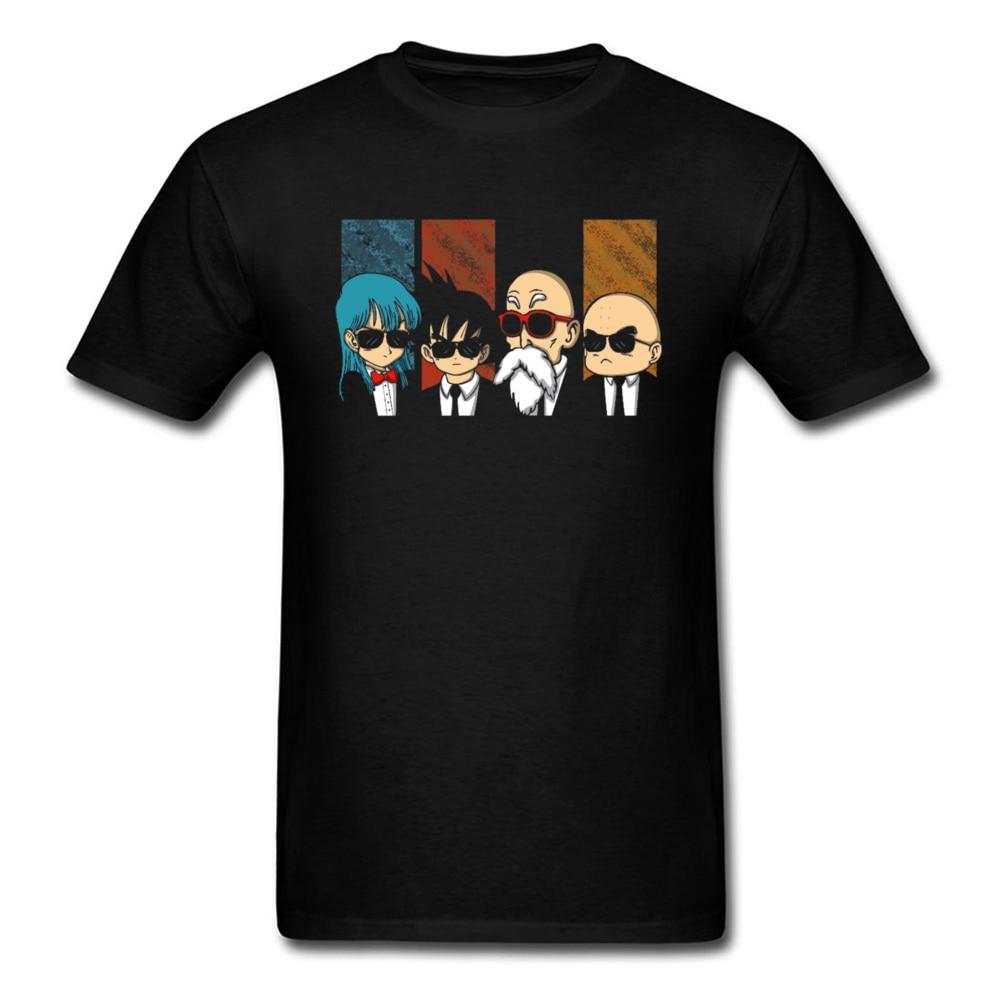 100% Cotton Men's Short Sleeve Reservoir Kame Tshirts Design Tops Shirts Fashionable Personalized O-Neck Tee Shirt Reservoir Kame black