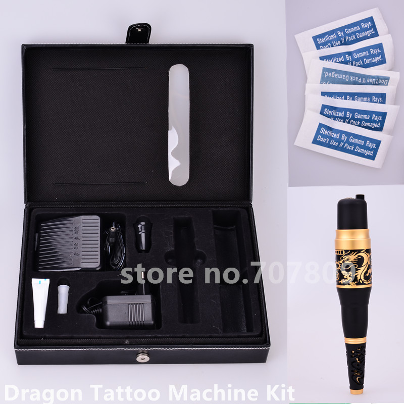 Electric Tattoo Machine Origin Dragon Rotary Tattoo Pen for Eyebrow Lip Permanent Makeup Machine Rotary Tattoo Guns by DHL permanent makeup rotary tattoo machine tattoo gun for learner use