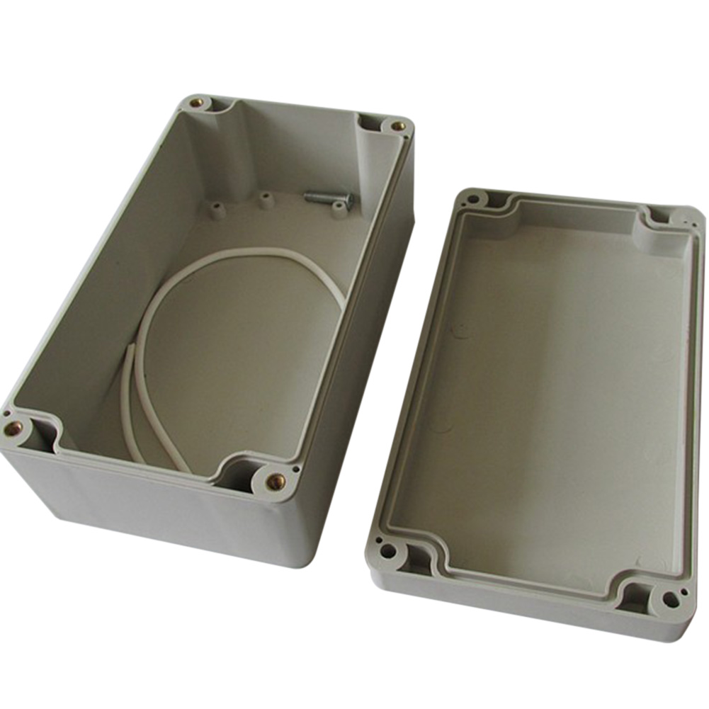 1pc Waterproof Plastic Enclosure Box Electronic Project Instrument Case Electrical Project Box Outdoor Junction Box Housing Diy
