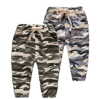 New 2 8Y Boys Camouflage Pants Children Outdoor Camo Pants Kids Army Design Colorful Trousers For