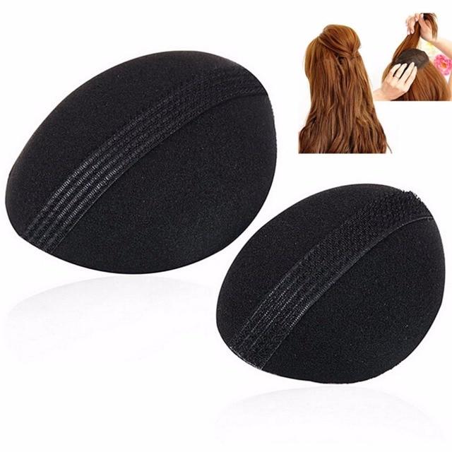 2pcs Set S Beauty Volume Hair Base P Styling Insert Pad Tool Sponge