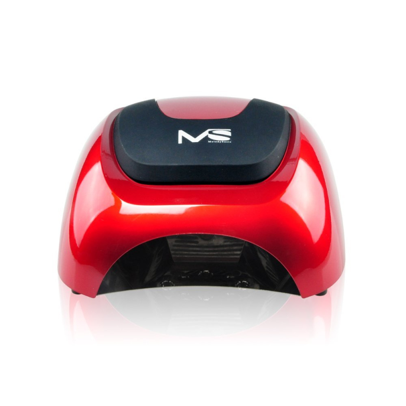 MelodySusie Professional 100-240V 48W LED Lamp Best Nail Dryer Very Fast Curing Nail Tools fit for Salon Use Black Red 2 Colors melodysusie 12w lamp nail for nail polish gel fast dry curing nail tools black white pink 2 colors nail dryer free shipping