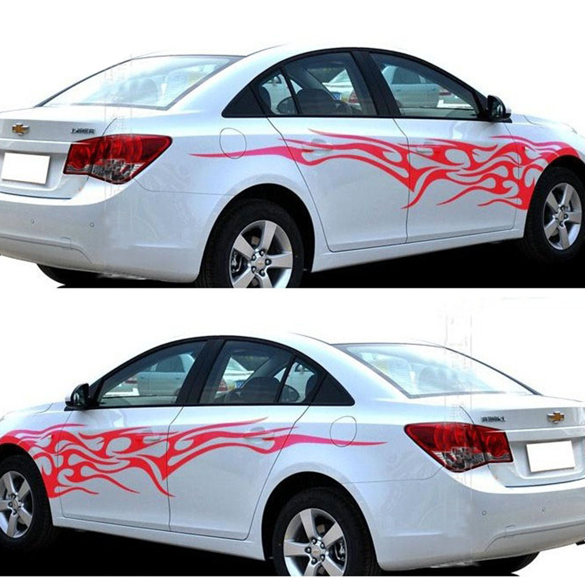 Car body sticker design singapore - Tribal Flames Graphics Vinyl Tattoos Car Truck Decal Vinyl Graphics Body Vinyl Stickers