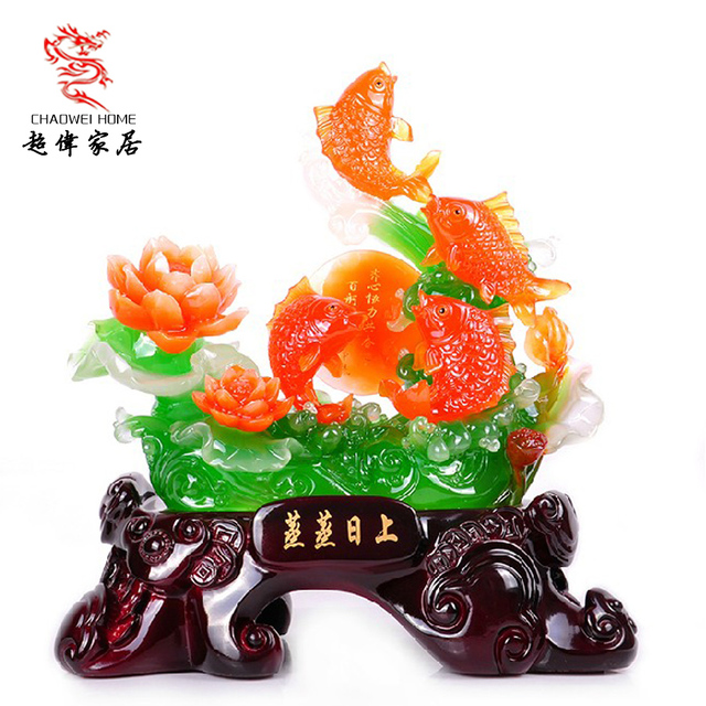 Fish decoration business gift home decoration
