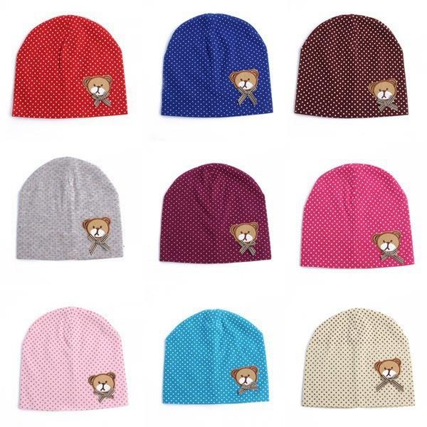 617d9749a75f5 WENDYWU joli bébé mignon enfants bébé bonnets chapeau casquette pour ...