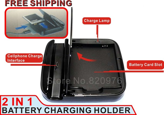 Phone charger Dock 2013 Hot Cheap latest charger 2 In 1 charger battery charger For Samsung i9500 s4 charger+ego Free Shipping