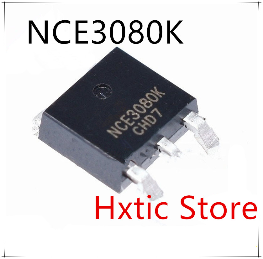 NEW 10PCS/LOT NCE3080K NCE3080 30V 80A TO-252